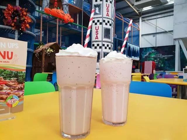 milkshakes at riverside hub