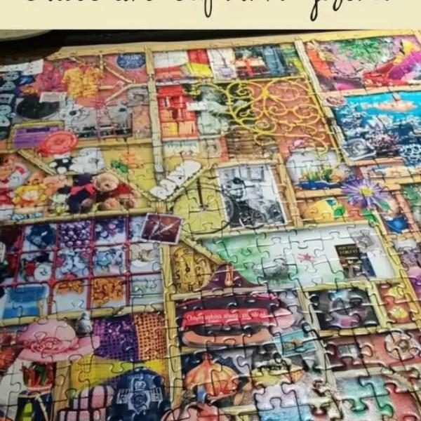 Ravensburger Collector's Cupboard 1000 piece puzzle