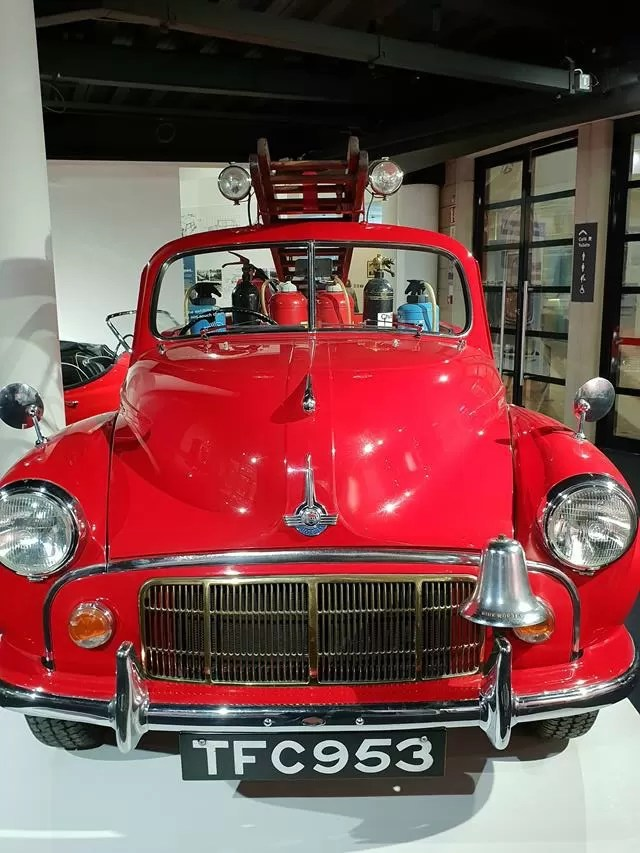 red car fire engine.