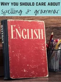 spelling and grammar