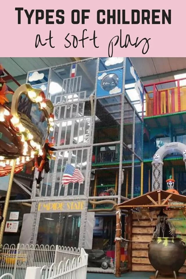 Types of children at soft play - Bubbablue and me