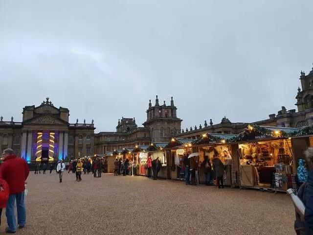 blenheim christmas market