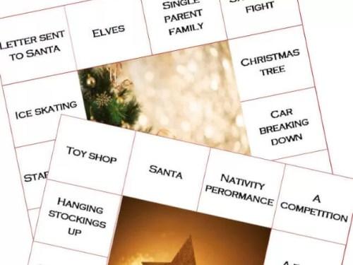 christmas movie bingo - Bubbablue and me