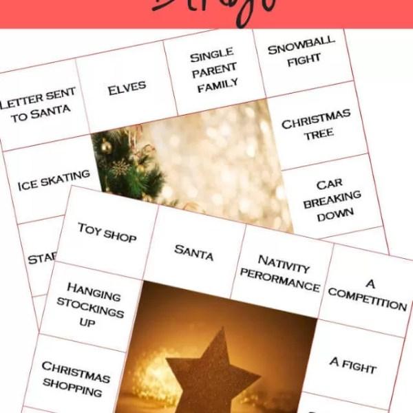 Fun with Christmas films – Christmas movie bingo