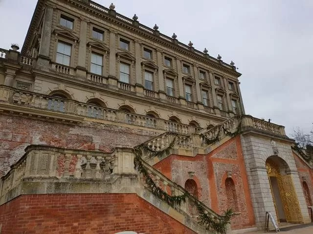 back of the steps and hotel at cliveden