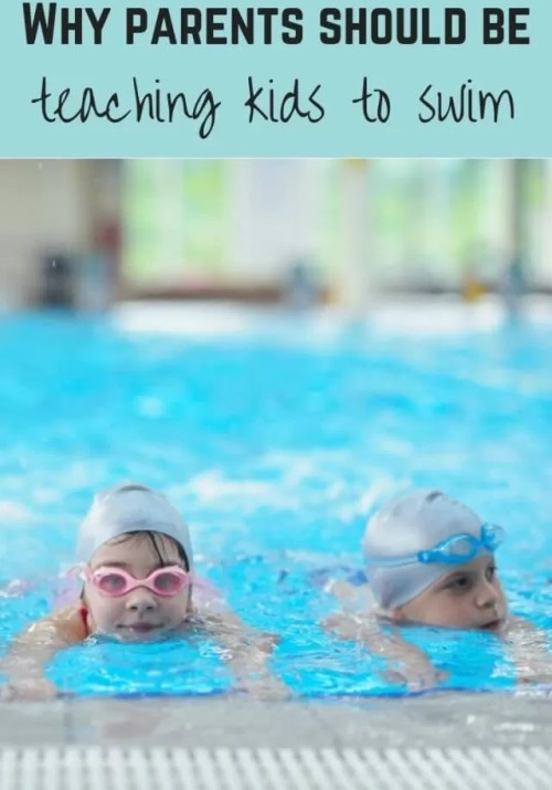 not teaching kids to swim - Bubbablueandme