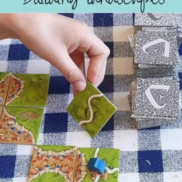 Building a landscape with Carcassonne board game – review