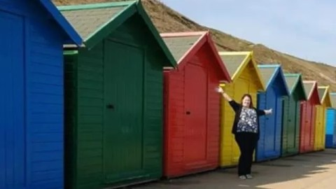Seaside fun at Whitby - Bubbablue and me