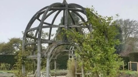 Waterperry gardens - Bubbablue and me
