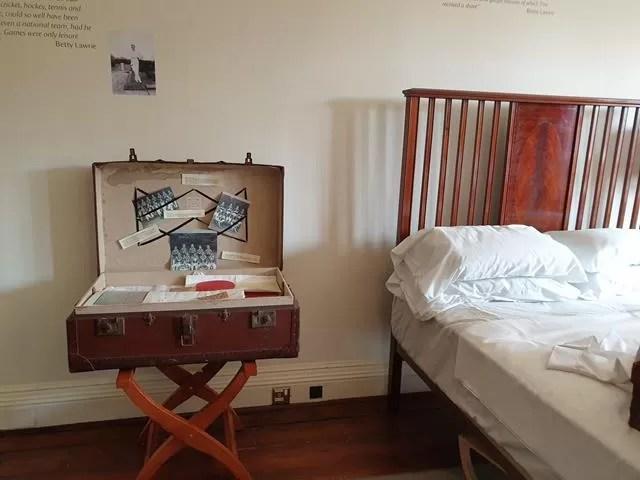 bedroom at goddards house