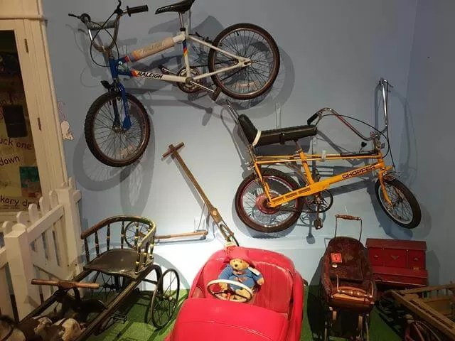 bikes nad toys theough the ages