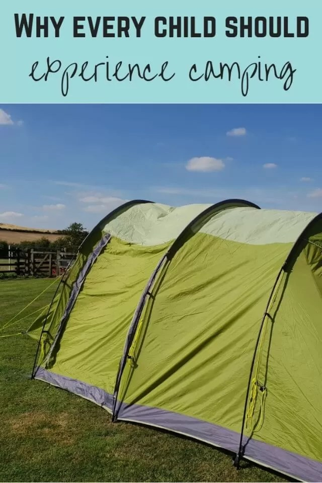 kids experience camping - Bubbablue and me