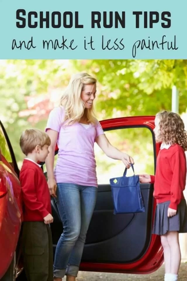 school run tips - Bubbablue and me