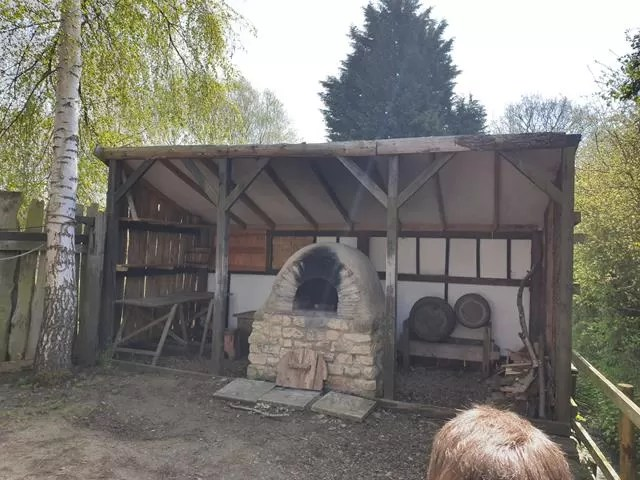 old clay pit oven