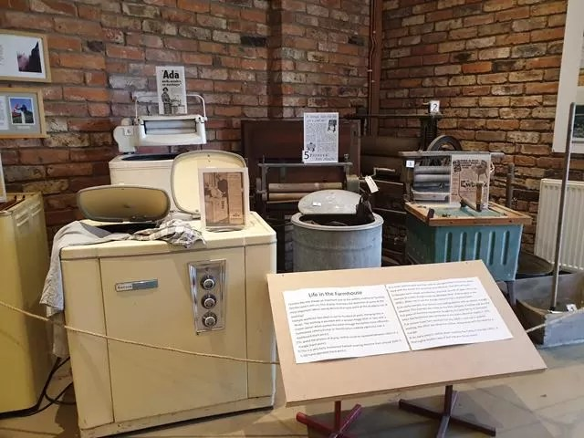 old laundry equipment