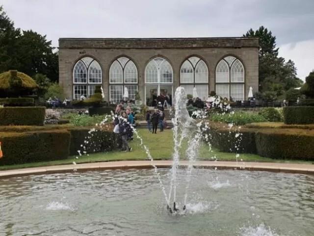 peacock gardens fountain