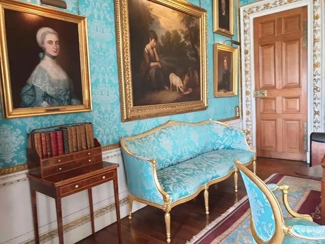 turquoise room castle howard