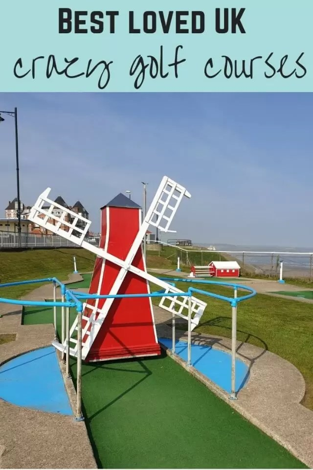 Crazy golf courses UK - Bubbablue and me