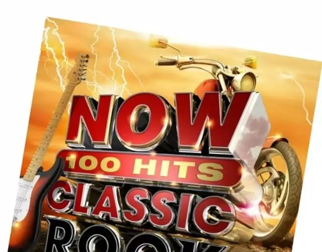 Father and son bonding with Now 100 Hits classic rock