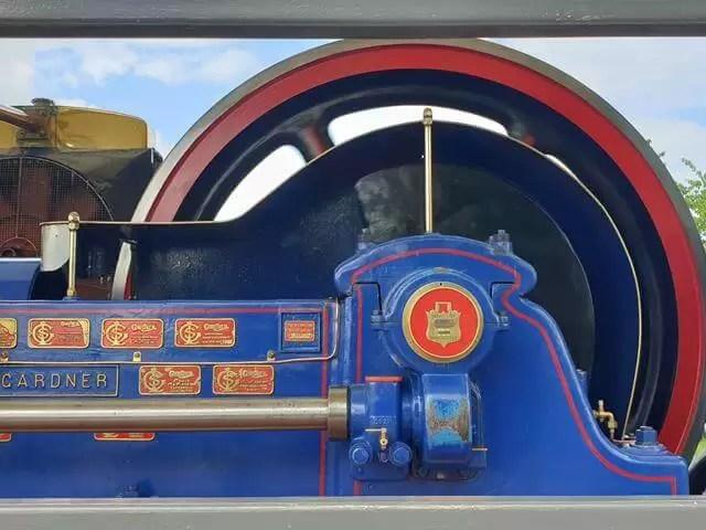 steam engine working