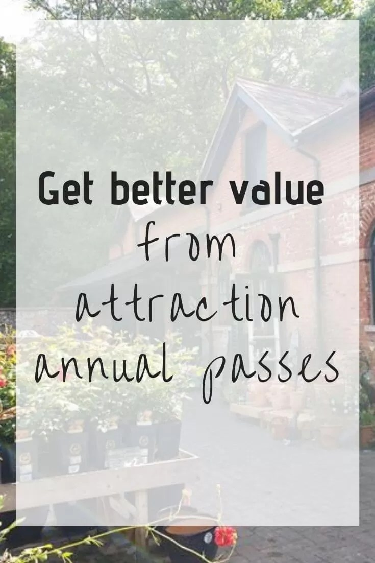 Better value from annual passes - Bubbablue and me