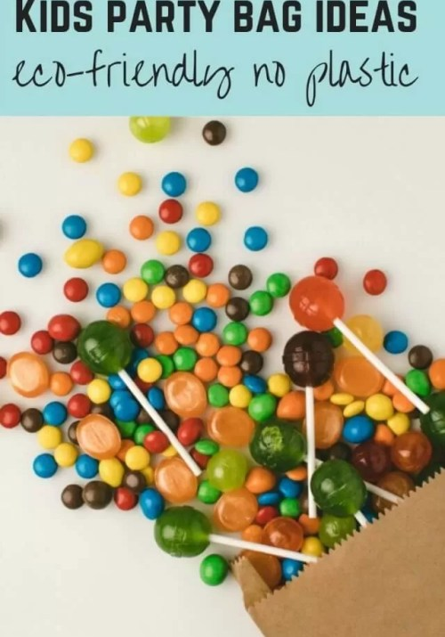 eco friendly kids party bag ideas - Bubbablue and me