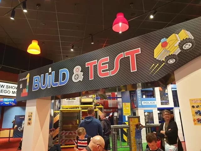 build and test area
