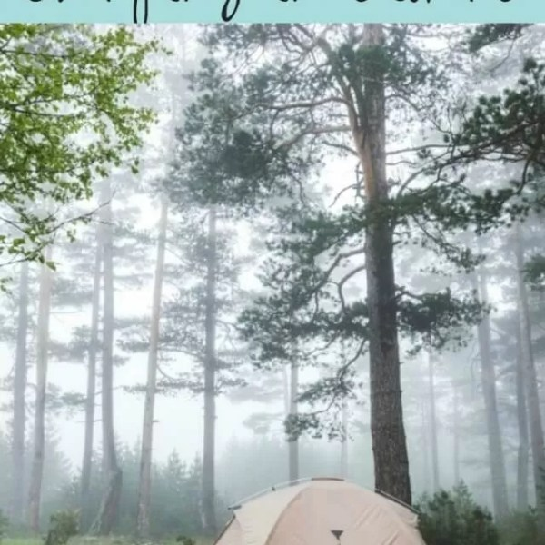 Tips for camping in storms and keeping hold of your tent
