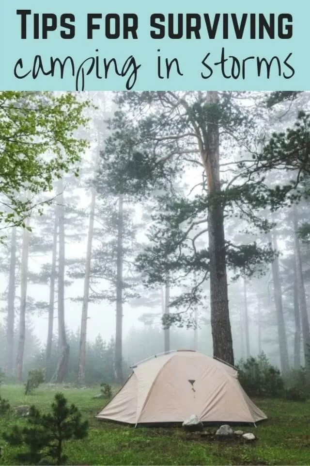camping in storms - Bubbablue and me