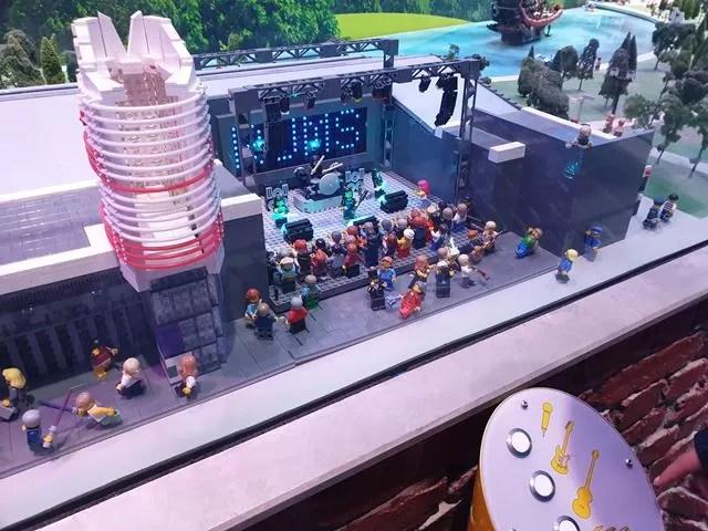 music concert in lego