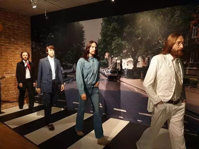abbey road at madame tussauds