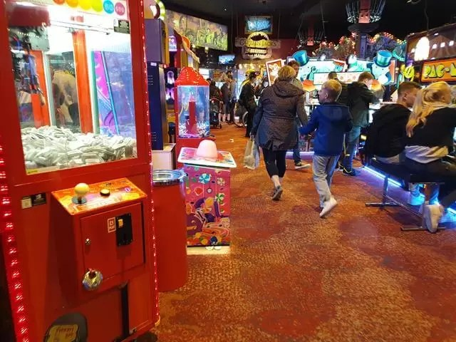amusement arcade machines
