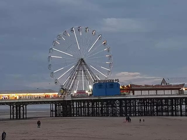 blackpool eye ferris wheel