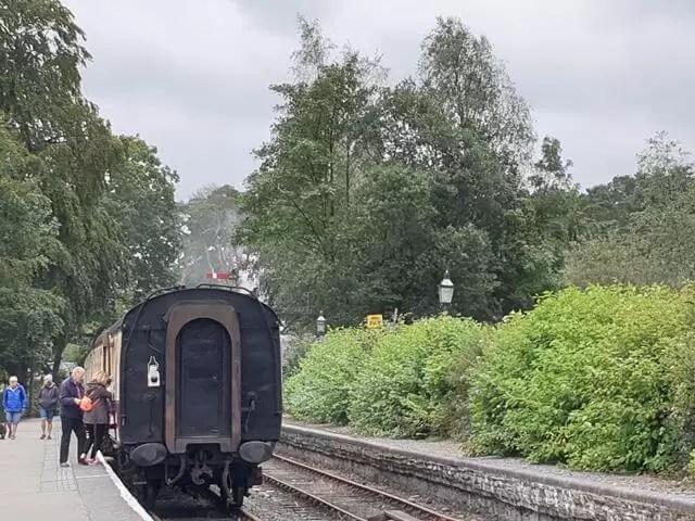 haverthwaite railway steam train