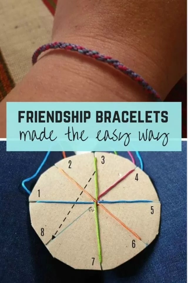 Friendship bracelets made the easy way - Bubbablue and me