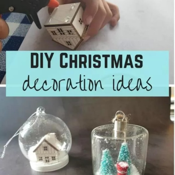 Easy make your own Christmas baubles – upcycling decoration ideas