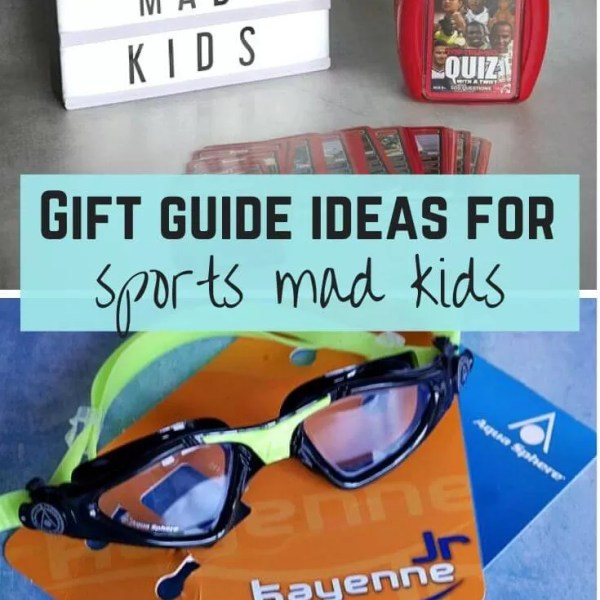 Christmas gift guide for sports mad children