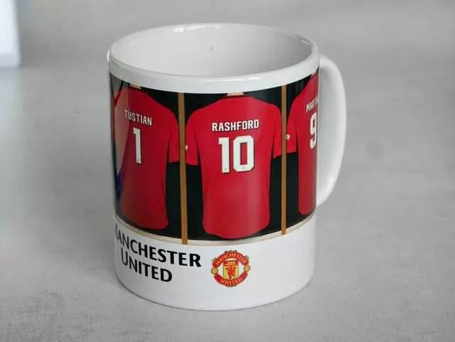man utd personalised mug
