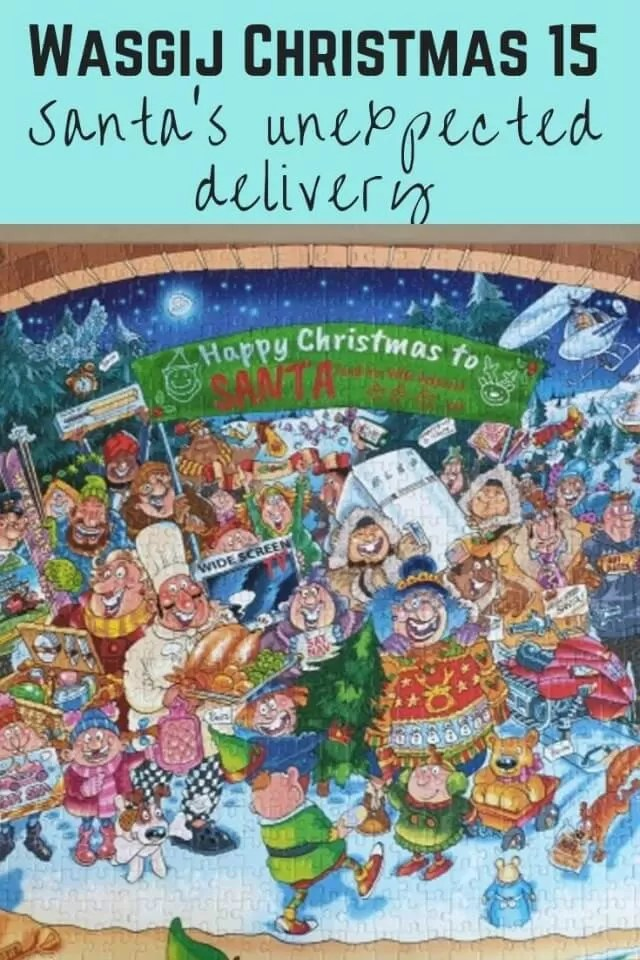 wasgij christmas 15 santas unexpected delivery - bubbablueandme
