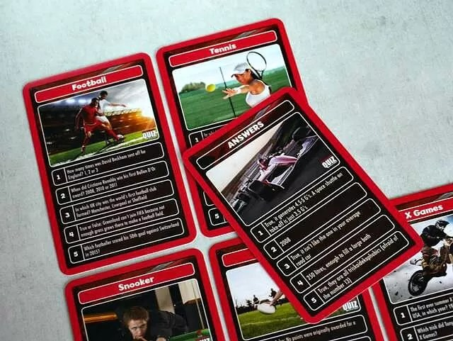 world sport quiz cards