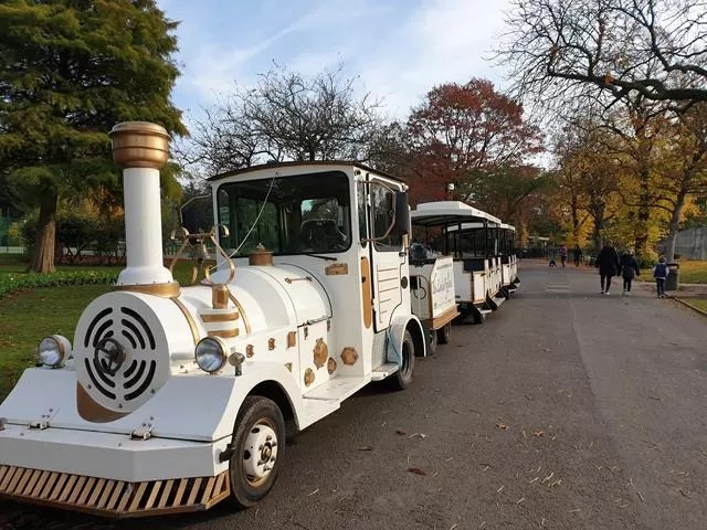 cannon hill park land train