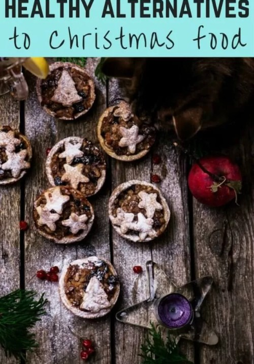 healthy alternatives to christmas food - Bubbablue and me