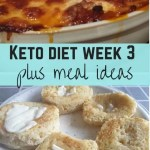 Keto diet week 3 plus meal ideas