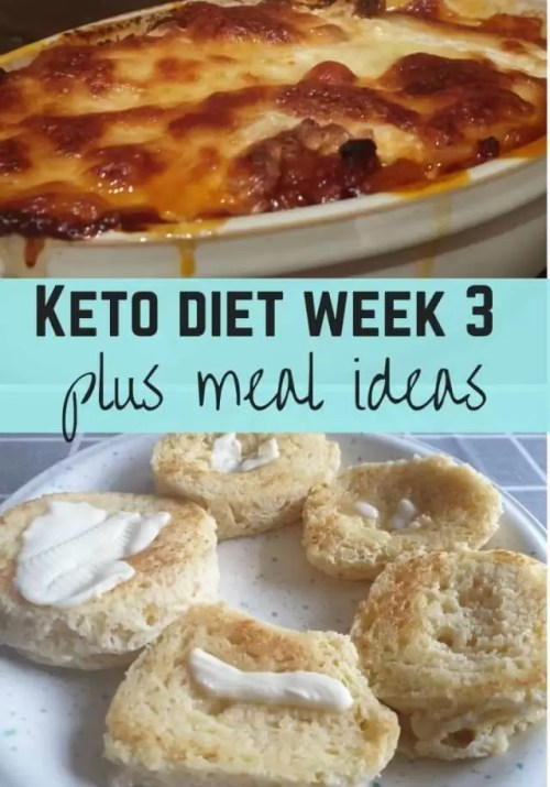 Keto diet week 3 and meal ideas