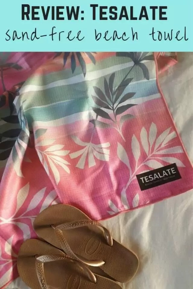 Tesalate sandfree towel review