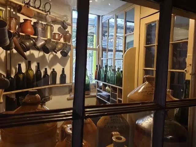 bar servery in museum of cambridge