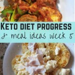 Diet progress and keto meals week 5