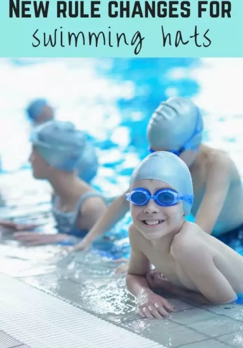 new swimming hat rule changes