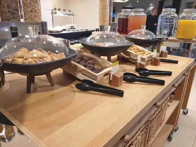 pastries at cambridge belfry