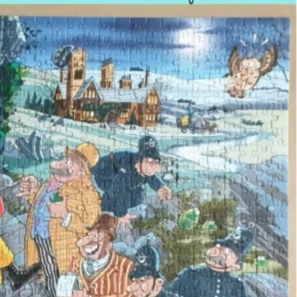 Wasgij Mystery 14 – Hound of the Wasgij ville puzzle